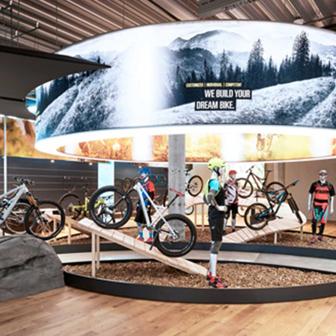 Bikes – Reach your goal with your store concept