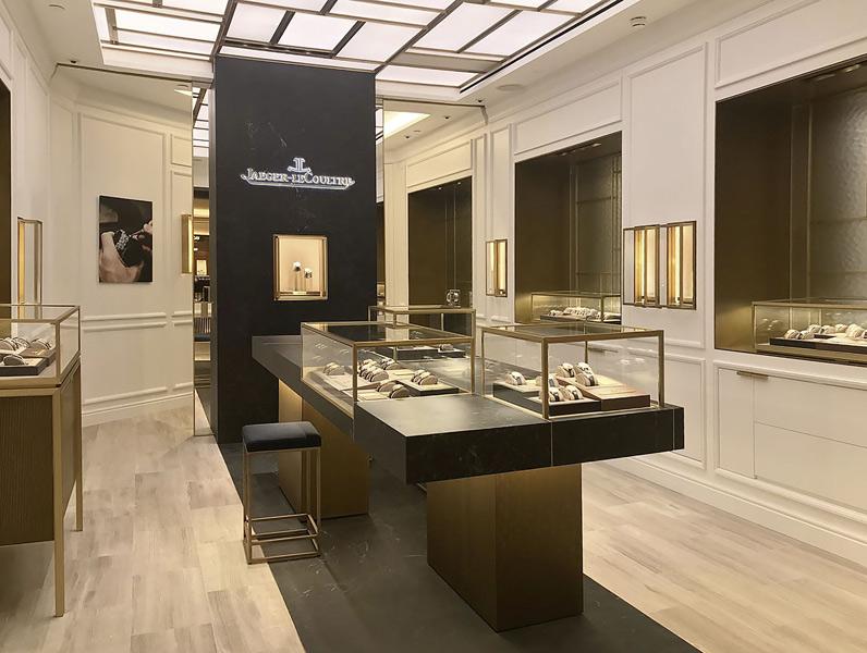 Jaeger-LeCoultre Boutique im Londoner Harrods